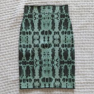 BCBGMAXAZRIA Scarlett Bandage Pencil Skirt